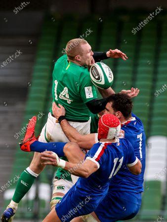 Editorial image of 2021 Guinness Six Nations Championship Round 2, Aviva Stadium, Co. Dublin - 14 Feb 2021