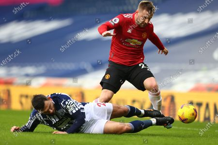 Editorial image of West Bromwich Albion vs Manchester United, United Kingdom - 14 Feb 2021