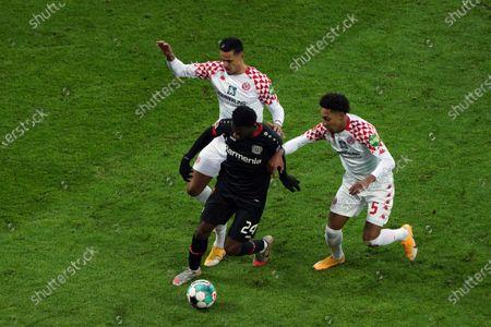Editorial picture of Bayer 04 Leverkusen v 1.FSV Mainz 05, Bundesliga football match, Bayarena Leverkusen, Germany - 13 Feb 2021
