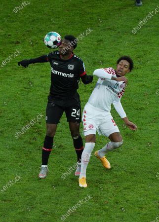 Timothy Fosu-Mensah, Bayer 04 Leverkusen, Jean Paul Boetius, Mainz 05
