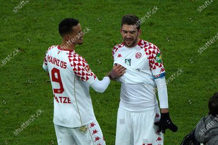 Stefan Bell, Robert Glatzzer, beide FSV Mainz, A,