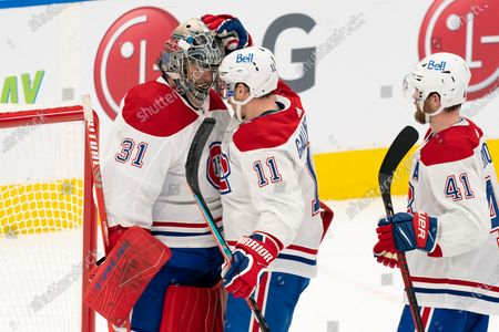 Editorial image of Canadiens Maple Leafs Hockey, Toronto, Canada - 13 Feb 2021