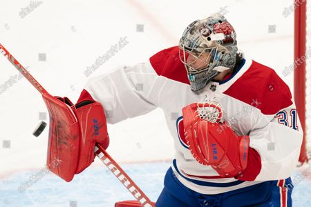 Editorial picture of Canadiens Maple Leafs Hockey, Toronto, Canada - 13 Feb 2021