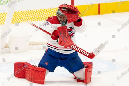 Editorial photo of Canadiens Maple Leafs Hockey, Toronto, Canada - 13 Feb 2021