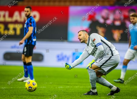 Samir Handanovic of FC Internazionale 500 matches in Serie A tonight in action