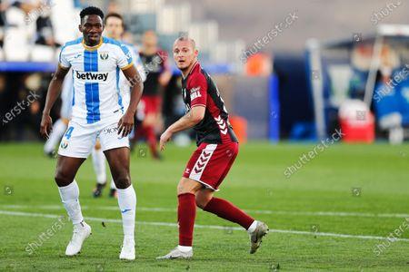 Editorial image of Soccer : 2020-2021 La Liga Smartbank : CD Leganes 3-1 Albacete Balompie, Leganes, Spain - 14 Feb 2021