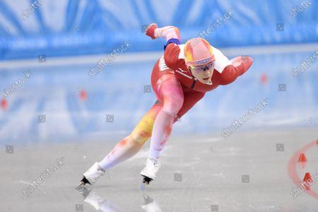 Sumire Kikuchi - Speed Skating : The All Japan Selected Speed Skating Championships Women's 1500m at M-Wave in Nagano, Japan.