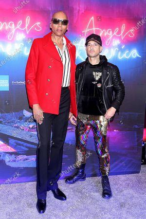 RuPaul and Ari Gold