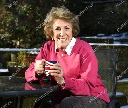 Stock Picture of Edwina Currie is plotting a politi- cal comeback at the age of 74 - after being inspired by Joe Biden. m 1983.