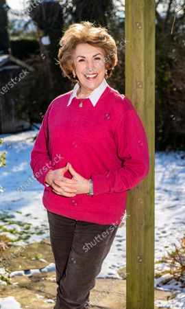 Editorial picture of Edwina Currie photoshoot, Whaley Bridge, UK - 12 Feb 2021