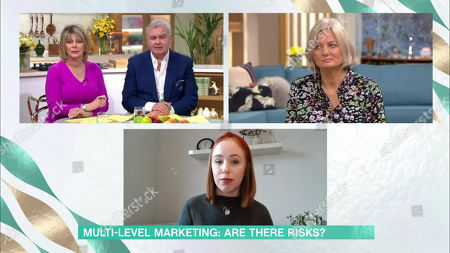 Eamonn Holmes, Ruth Langsford, Alice Beer, Guest