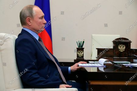 Editorial image of Russia Putin, Moscow, Russian Federation - 15 Feb 2021