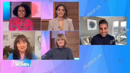 Charlene White, Frankie Bridge, Coleen Nolan, Jane Moore, Dr Ranjit Singh