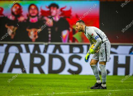 Stock Image of Samir Handanovic of FC Internazionale in action