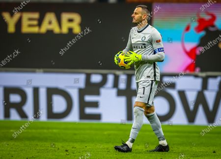 Samir Handanovic of FC Internazionale in action