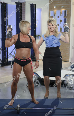 Stock Image of Sharon Madderson and Holly Willoughby