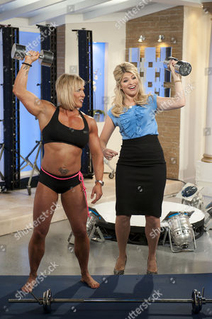 Sharon Madderson and Holly Willoughby