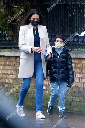 Editorial image of Exclusive - Lauren Silverman out and about, London, UK - 15 Feb 2021