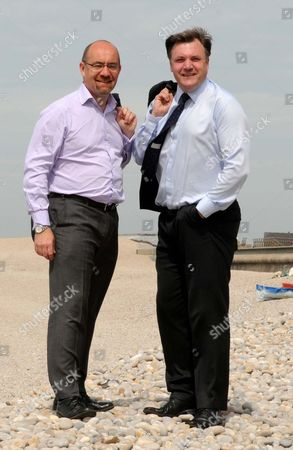 Jim Knight, South Dorset MP and Employment Minister and Ed Balls MP, Secretary of State for Children, Schools and Families