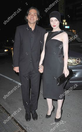 Claudio Dabed and Melissa George