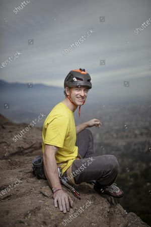 Juan Pablo Mohr, Chilean mountaineer (34 years old) seen climbing a hill in Santiago de Chile. He is the first Chilean to reach the summit of Everest without the help of oxygen. In addition, he became the first Chilean to reach four peaks above 8,000 meters without oxygen support. Juan Pablo Mohr, Ali Sadpara and John Snorri continue in the arms of K2, the Wild Mountain, the second highest mountain in the world. The climbers have been missing for 10 days and despite different rescue attempts there are still no clues that can help to find their whereabouts. So far it has comprised attempts by land, air and satellite imagery.  (In the photograph, Juan Pablo Mohr entertained months before the expedition in the river on Manquehue hill in Santiago, Chile.)