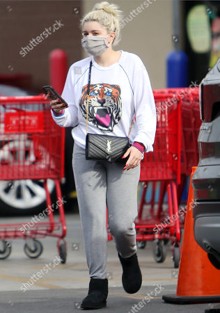 Editorial picture of Ariel Winter out and about, Los Angeles, California, USA - 15 Feb 2021