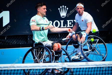 Editorial image of Tennis Australian Open Wheelchair Double Final, Melbourne, Australia - 16 Feb 2021