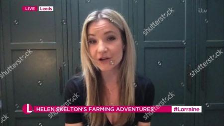 Editorial photo of 'Lorraine' TV Show, London, UK - 16 Feb 2021