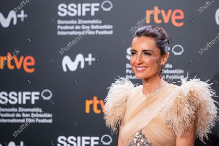 Monica de Tomas attends 'Blackbird (La Decision)' Premiere at 67th San Sebastian Film Festival in San Sebastian, Spain, on September 20, 2019. (Photo by Manuel Romano/NurPhoto)