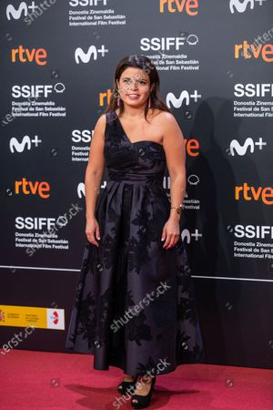 Gabriela Rodriguez attends 'Blackbird (La Decision)' Premiere at 67th San Sebastian Film Festival in San Sebastian, Spain, on September 20, 2019. (Photo by Manuel Romano/NurPhoto)