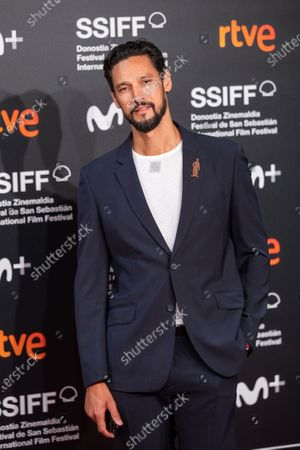 Stock Image of Stany Coppet attends the 'Mientras Dure La Guerra (While At War)' premiere during the 67th San Sebastian Film Festival in the northern Spanish Basque city of San Sebastian on September 21, 2019. (Photo by Manuel Romano/NurPhoto)