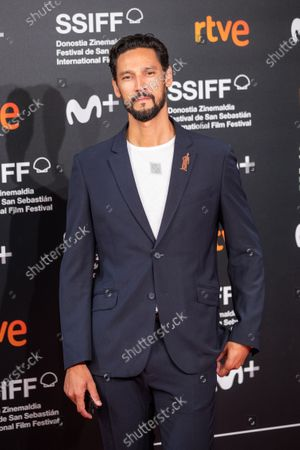 Stany Coppet attends the 'Mientras Dure La Guerra (While At War)' premiere during the 67th San Sebastian Film Festival in the northern Spanish Basque city of San Sebastian on September 21, 2019. (Photo by Manuel Romano/NurPhoto)