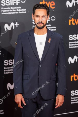 Stock Photo of Stany Coppet attends the 'Mientras Dure La Guerra (While At War)' premiere during the 67th San Sebastian Film Festival in the northern Spanish Basque city of San Sebastian on September 21, 2019. (Photo by Manuel Romano/NurPhoto)