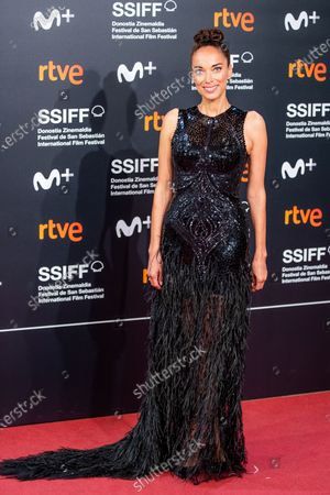 Dolores Chaplin attends the 'Mientras Dure La Guerra (While At War)' premiere during the 67th San Sebastian Film Festival in the northern Spanish Basque city of San Sebastian on September 21, 2019. (Photo by Manuel Romano/NurPhoto)