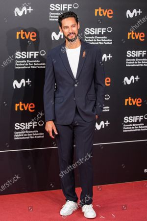 Stock Picture of Stany Coppet attends the 'Mientras Dure La Guerra (While At War)' premiere during the 67th San Sebastian Film Festival in the northern Spanish Basque city of San Sebastian on September 21, 2019. (Photo by Manuel Romano/NurPhoto)