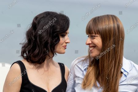 Eva Green and Alice Winocour attend the 'Proxima' photocall during the 67th San Sebastian Film Festival in the northern Spanish Basque city of San Sebastian on September 21, 2019. (Photo by Manuel Romano/NurPhoto)