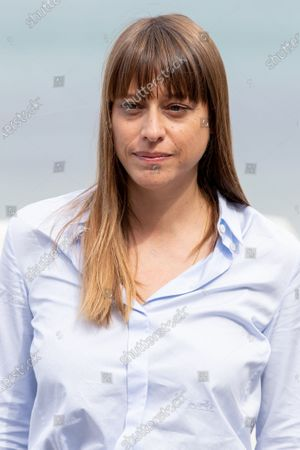 Alice Winocour attends the 'Proxima' photocall during the 67th San Sebastian Film Festival in the northern Spanish Basque city of San Sebastian on September 21, 2019. (Photo by Manuel Romano/NurPhoto)