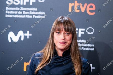 Alice Winocour attends the 'Proxima' Premiere during the 67th San Sebastian Film Festival in the northern Spanish Basque city of San Sebastian on September 21, 2019. (Photo by Manuel Romano/NurPhoto)