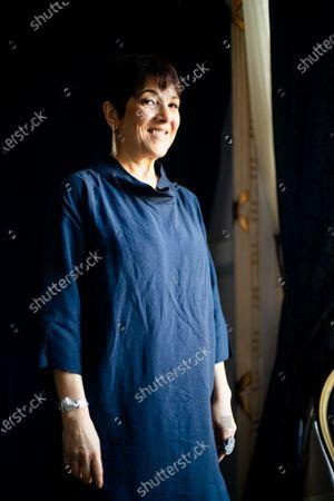 Stock Picture of Paulina García poses during 67th San Sebastian Film Festival on September 26, 2019 in San Sebastian, Spain. (Photo by Manuel Romano/NurPhoto)