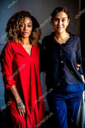 Sarah Gavron and Theresa Ikoko (L) pose during 67th San Sebastian Film Festival on September 27, 2019 in San Sebastian, Spain. (Photo by Manuel Romano/NurPhoto)