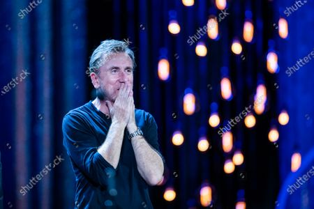 Tim Roth during the ceremony on the closure day of 67th San Sebastian International Film Festival on September 28, 2019 in San Sebastian, Spain. (Photo by Manuel Romano/NurPhoto)
