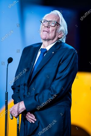 American actor Donald Sutherland receives the Donostia award during 67th San Sebastian Film Festival on September 26, 2019 in San Sebastian, Spain. (Photo by Manuel Romano/NurPhoto)