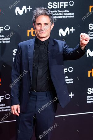 Gael Garcia Bernal attends the Donostia Award red carpet during 67th San Sebastian International Film Festival on September 27, 2019 in San Sebastian, Spain.  (Photo by Manuel Romano/NurPhoto)