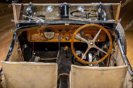 Editorial image of Preview of Bonhams' Legend of the Road Sale, 1937 Bugatti Type 57S at New Bond Street., New Bond Street, London, UK - 16 Feb 2021