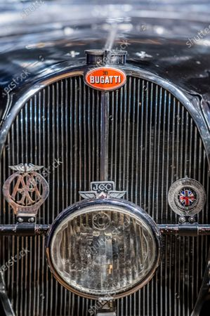 Preview of Legend of the Road Sale featuring a 1937 Bugatti Type 57S (pictured - Estimate £5,000,000-7,000,000), one of the world's most valuable and desirable pre-war motor cars, which has been hidden for the past 50 years at Bonhams New Bond. Offered for the first time ever at auction, the rediscovered treasure will lead a sale on 19 February 2021. Owned by the likes of Sir Malcolm Campbell, of the 'Bluebird' world land and water speed records fame, only 42 examples of the 57S variants were produced and it was the fastest road car of its day. This special example - nicknamed 'Dulcie' due to its registration number 'DUL 351' - has been stored in the garage of its late owner, respected engineer Bill Turnbull, since 1969, and is now offered as an unfinished project, at no reserve.