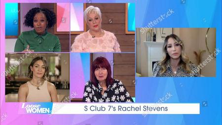 Charlene White, Denise Welch, Frankie Bridge, Janet Street-Porter, Rachel Stevens