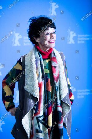 Geraldine Chaplin attends the 'La Fiera Y La Fiesta' (Holy Beasts) photocall during the 69th Berlinale International Film Festival Berlin at Grand Hyatt Hotel on February 13, 2019 in Berlin, Germany.