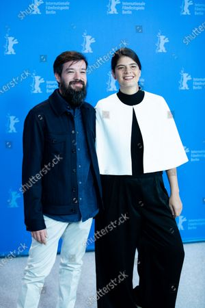 Stock Picture of Israel Cardenas and Laura Amelia Guzman attends the 'La Fiera Y La Fiesta' (Holy Beasts) photocall during the 69th Berlinale International Film Festival Berlin at Grand Hyatt Hotel on February 13, 2019 in Berlin, Germany.