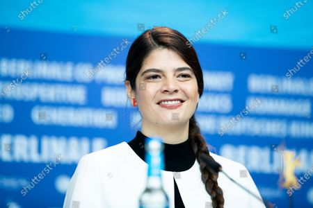 Laura Amelia Guzman attends the 'La Fiera Y La Fiesta' (Holy Beasts) Press Conference during the 69th Berlinale International Film Festival Berlin at Grand Hyatt Hotel on February 13, 2019 in Berlin, Germany.