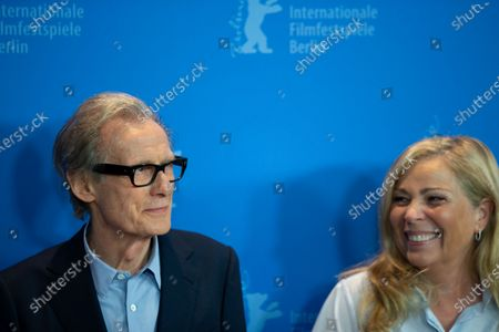 """Bill Nighy and Lone Scherfig attends the """"The Kindness Of Strangers"""" Photocall at the 69th Berlinale International Film Festival Berlin at Grand Hyatt Hotel on February 7, 2019, in Berlin, Germany. The Berlin film festival will be running from February 7 to 17, 2019. Nearly 400 movies from around the world will be presented, with 17 vying for the prestigious Golden Bear top prize."""